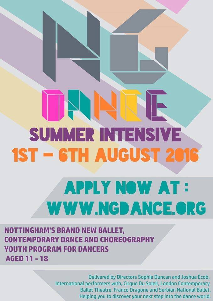 Summer intensive created by dancers for dancers to de-mystify the